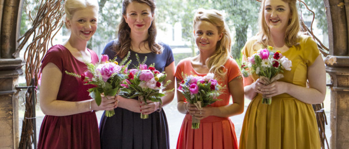 Bridemaids Bouquets, Swansea, Llanelli and the Gower