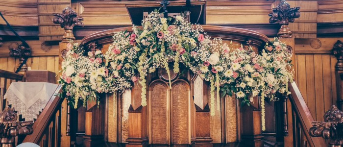 Wedding Venue and Church Floral Decorations Swansea