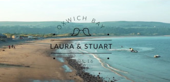 Laura & Stuart's Wedding, Oxwich Bay Hotel, Gower