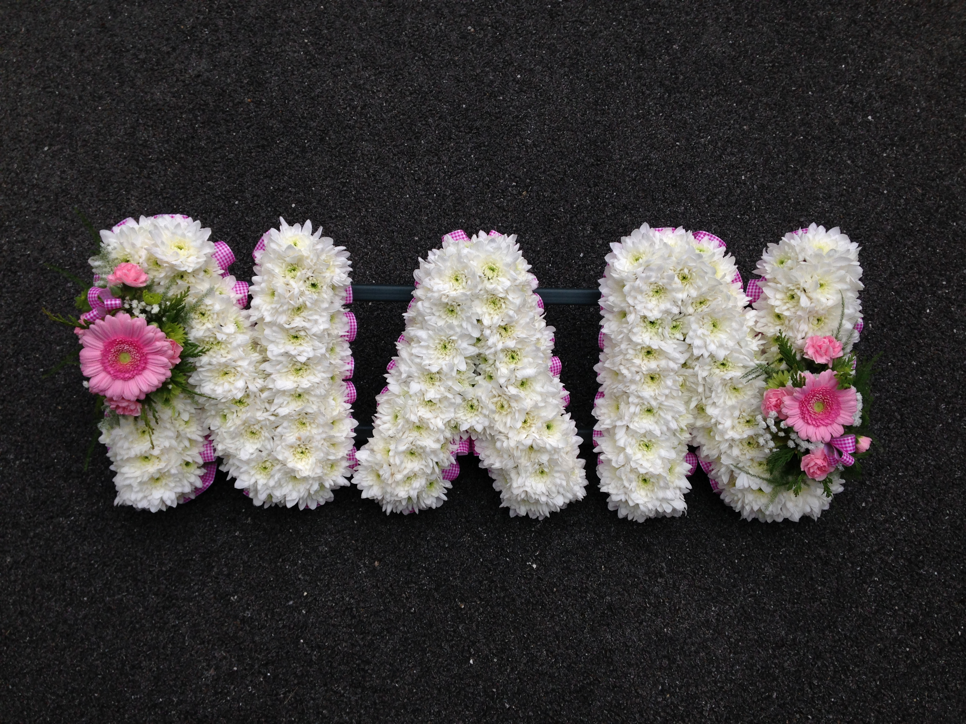 Funeral letters flowers by design funeral letters izmirmasajfo