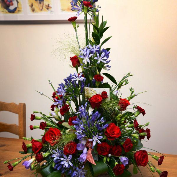 Basket Flower Arrangement Swansea