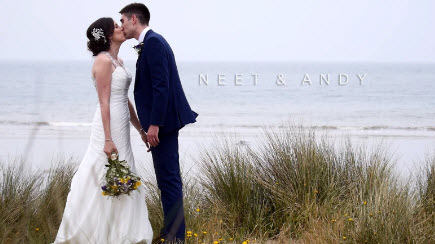 Neet & Andy's Wedding at the Oxwich Bay Hotel in Gower