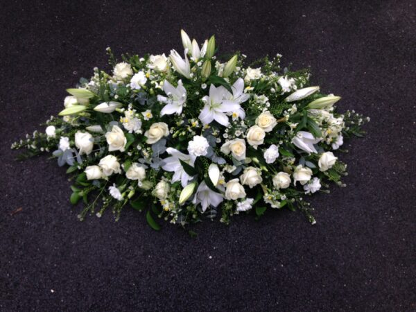 Coffine Spray | Swansea Funeral Flowers