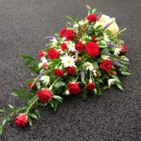 Single ended spray | Swansea Funeral Flowers