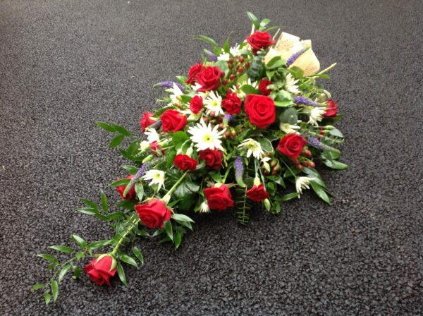 Single ended spray | Swansea Funeral Flowers