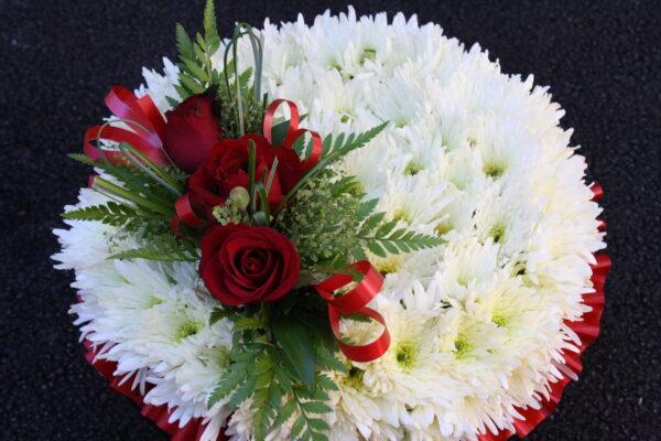 Swansea Funeral Flowers - Based Posy £50 / £80