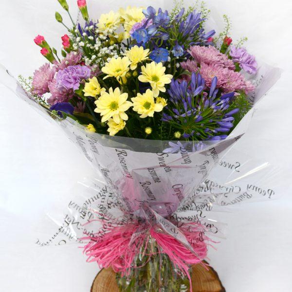 Aqua bouquet | Order Flowers Online Swansea