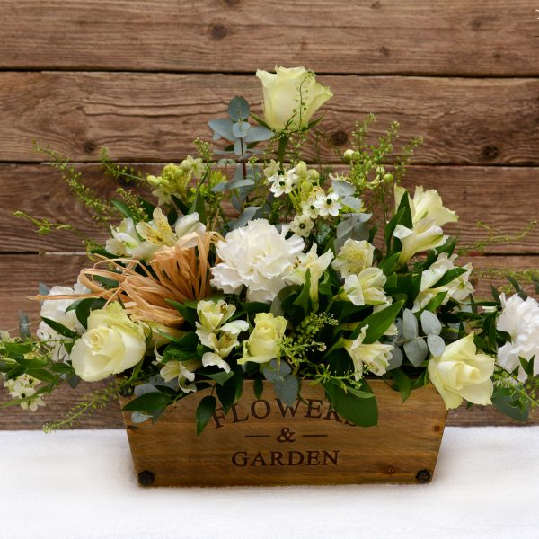 Garden Trough Flower Arrangement