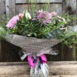 Aqua Gift Bouquet - send flowers in Swansea