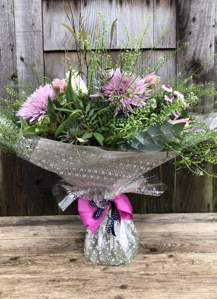 Aqua Gift Bouquet - send flowers in Swansea