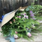 Rustic Gift Bouquet - send flowers in Swansea