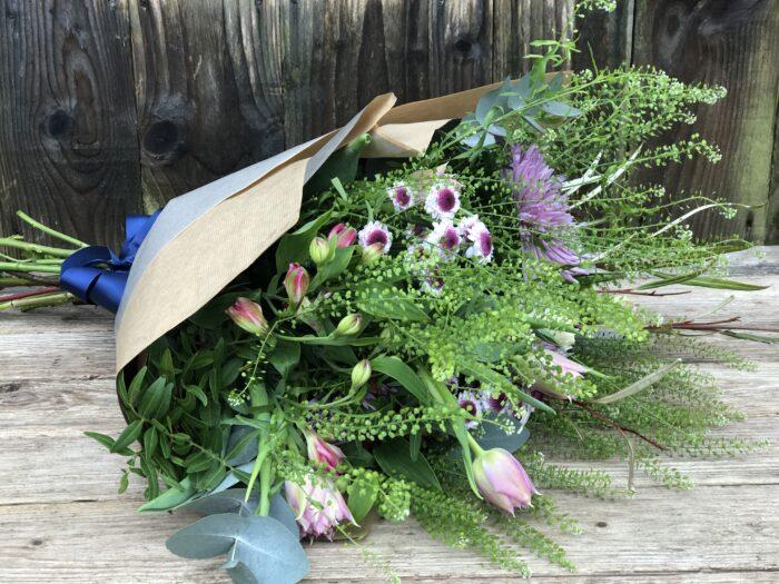 Rustic Gift Bouquet - send flowers in Swansea