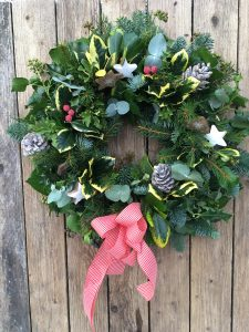 Christmas Wreath Making Workshops In Gower Swansea