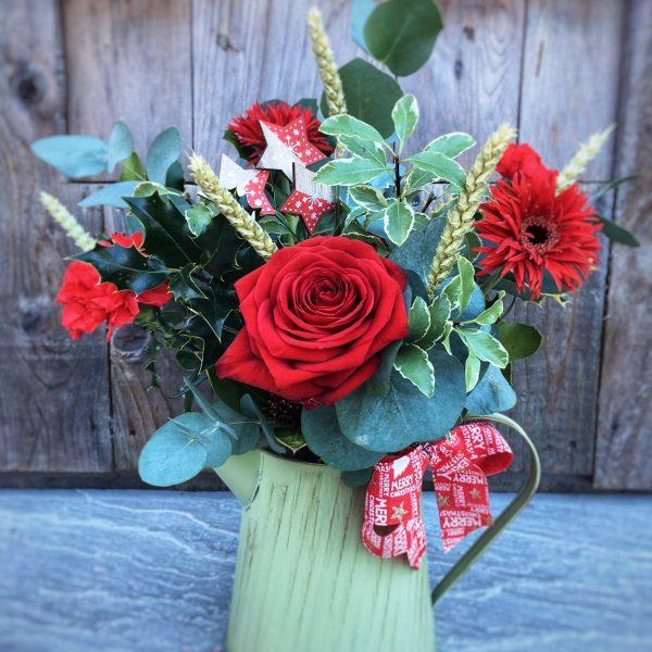 Christmas Bouquet Swansea Jug
