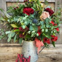 Step Into Christmas Bouquet