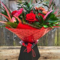 'Love is in the air' Valentine Bouquet in Swansea