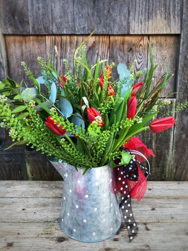 'Be mine' Valentine Bouquet in Swansea